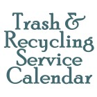 Trash & Recycling Service Calendar